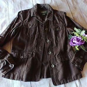 Eddie Bauer Linen/Cotton Jacket
